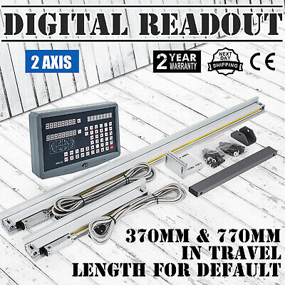 2 Axis DRO digital readout linear scale for milling lathe ma