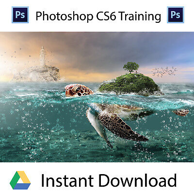 Adobe Photoshop Cs6 Professional Training Videos  Instant Download