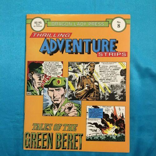 TALES OF THE GREEN BERET , # 8, FEB. 1987, B & W, JOE KUBERT ART, FINE CONDITION