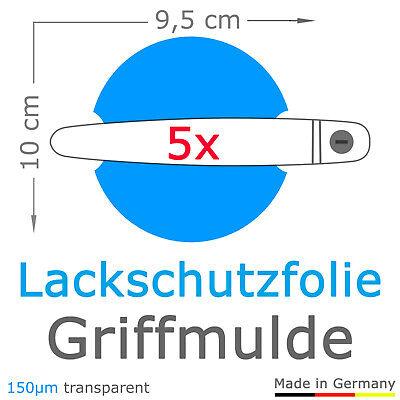5x Griffmulde Schutzfolie passend für VW T6 / T6.1