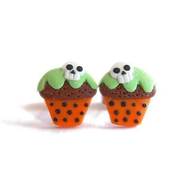 Halloween Kürbis Pie Cupcake Skelett Totenkopf Lustig Kinder - Kind Cupcake Kostüm