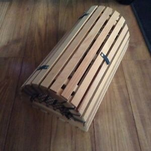 Wooden Decorative Lobster Trap.........$10 No Hold