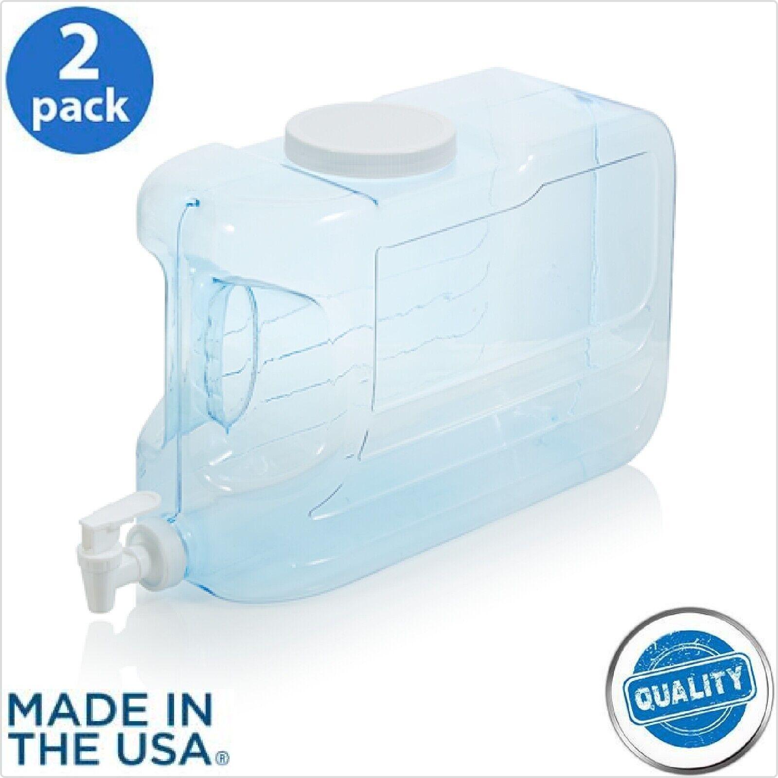 2.5 Gal Slimline Beverage Dispenser BPA Free for Picnics Hom
