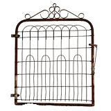 Vintage METAL GATE Fence antique garden victorian old door architectural salvage