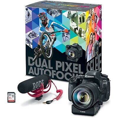 Canon EOS 80D Video Creator Kit *NEW* *IN STOK*
