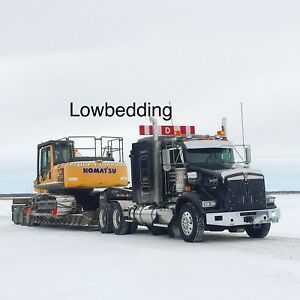 Lowbedding & Equipment transport