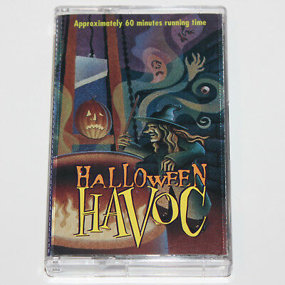 Halloween Havoc Audio Cassette Tape '96 Vintage Song Story Spooky Sound Effects (Audio Halloween Stories)