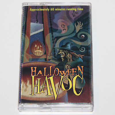 Halloween Havoc Audio Cassette Tape '96 Vintage Song Story Spooky Sound Effects