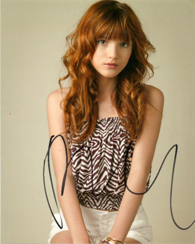 Shake It Up Bella Thorne Signed Autographed 8x10 COA