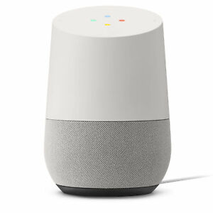 Google Home Smart Assistant & Wireless Speaker - White NEW F