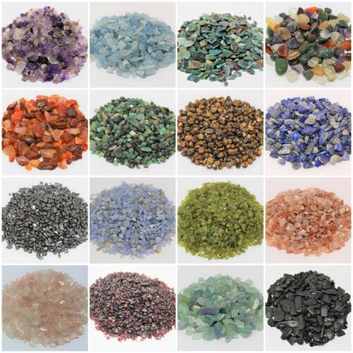 1 oz Loose Semi Tumbled Stones, Chips 3 - 15 mm (Gemstones) BUY 3 GET 1 (4 CART)