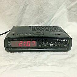Vintage, Emerson, AM/FM Digital Alarm Clock / Radio, AK2722