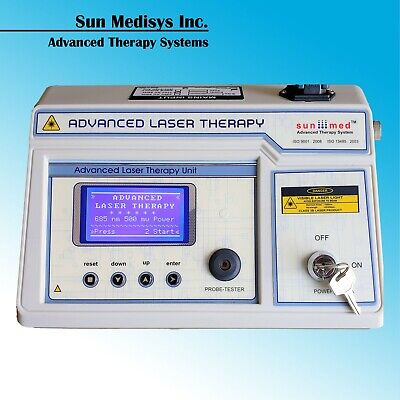 Professional Low Level Laser Therapy Lcd Cold Laser Muscle Pain Relief Treatment