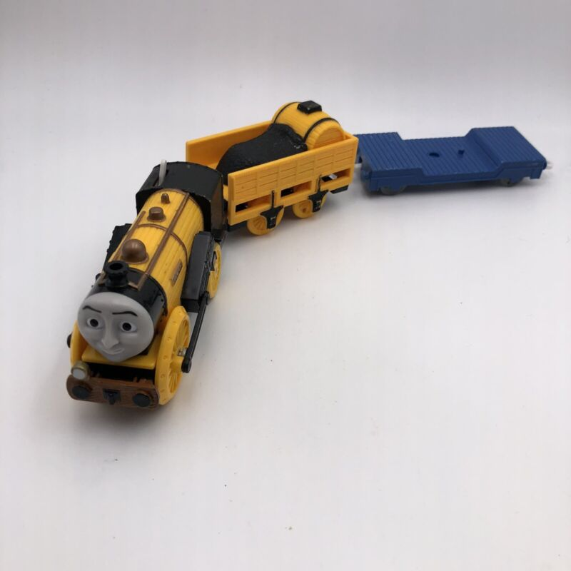 """A451 Thomas Trackmaster Motorized Train Stephen """"The Rocket"""" Tender Flatbed"""
