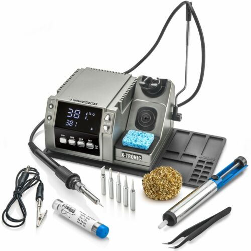 X-Tronic Model 4010-PRO-X • Platinum Edition • 75 Watt Soldering Iron Station