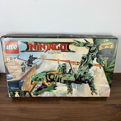 The LEGO Ninjago Movie Green Ninja Mech Dragon 70612 Retired NEW Damaged Box