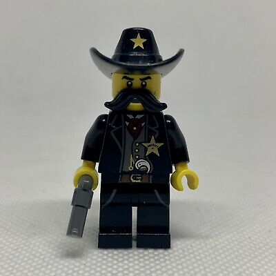 GENUINE & RARE LEGO WESTERN SHERIFF MINIFIGURE