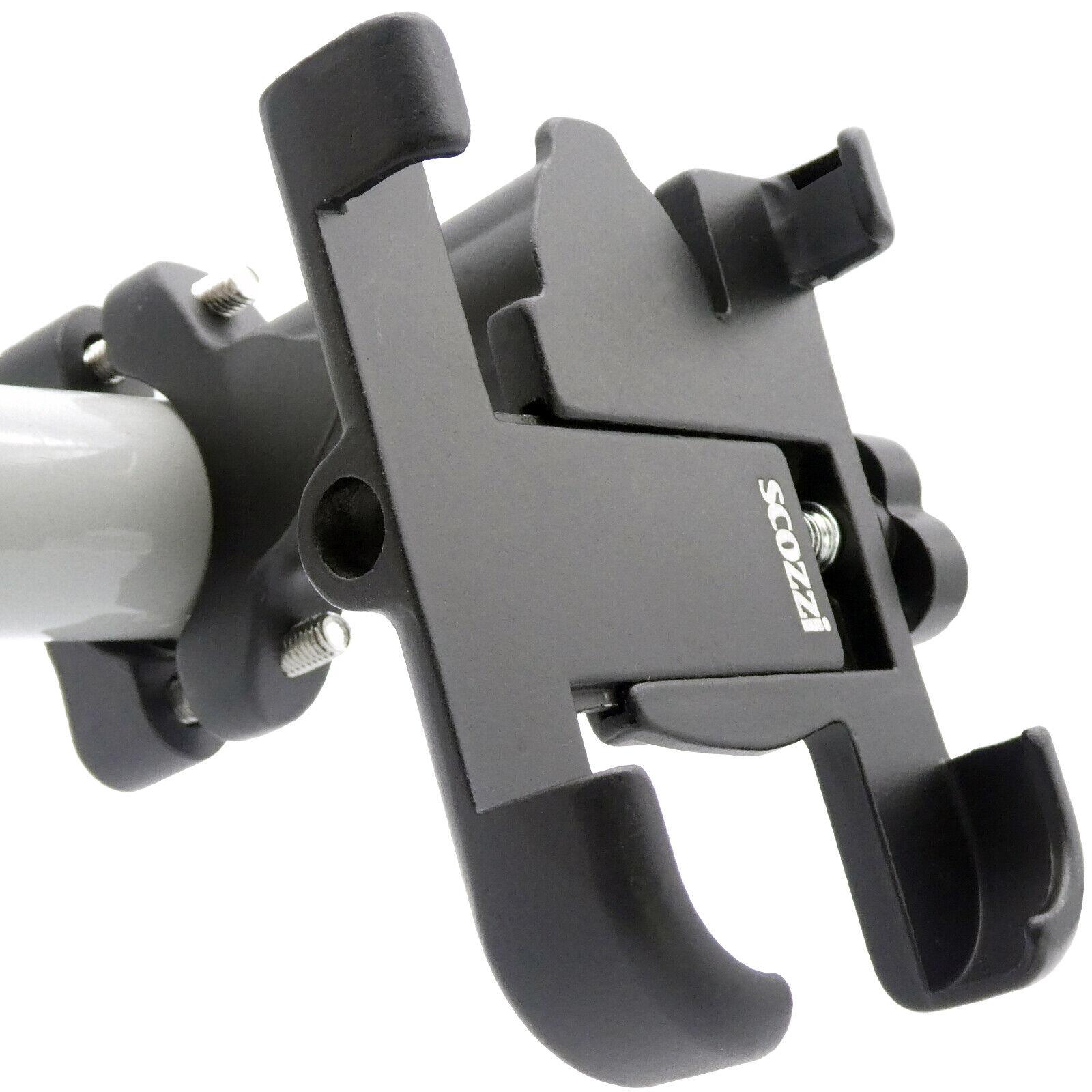 scozzi®Handyhalterung Fahrrad Lenker Universal Handy Smartphone Halter Halterung