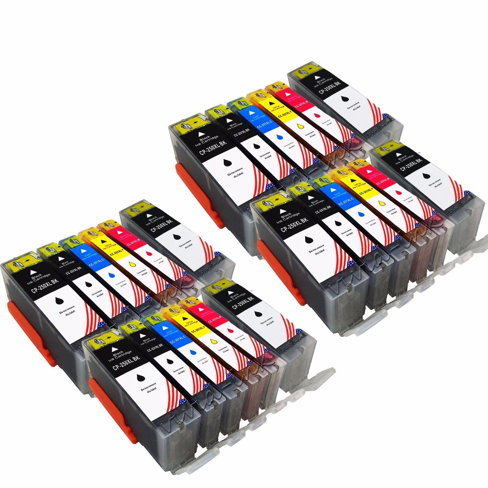 24 pk ink set for canon pgi