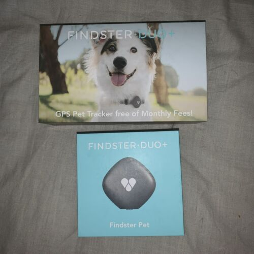 Findster Duo GPS Pet Tracker For Dogs And Cats - Free Of Monthly Fees - $120.00