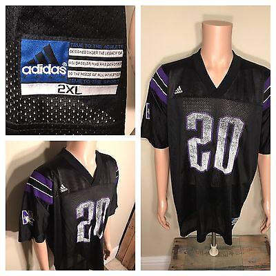 - Vintage Northwestern Wildcats Football Jersey Adidas #20 size XXL NU University