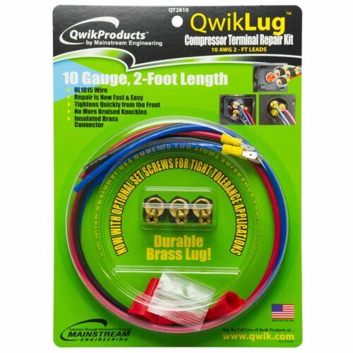 Qwik / Mainstream Engineering QT2810 QWIKLUG 3 TERMINAL 10 AWG