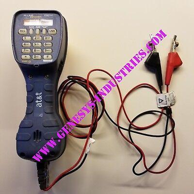 Fluke Networks Ts52 Deluxe Test Set Pro Piercing Pin Bon 52801009 2
