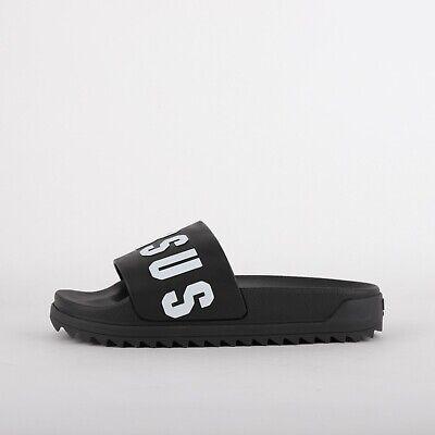 Mens Versus Versace Black/White Slides (LF1) RRP £139.00