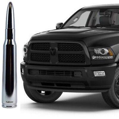 Chrome Bullet Antenna for Dodge Ram All Years All Models 1500 2500 3500 4500 550 ()