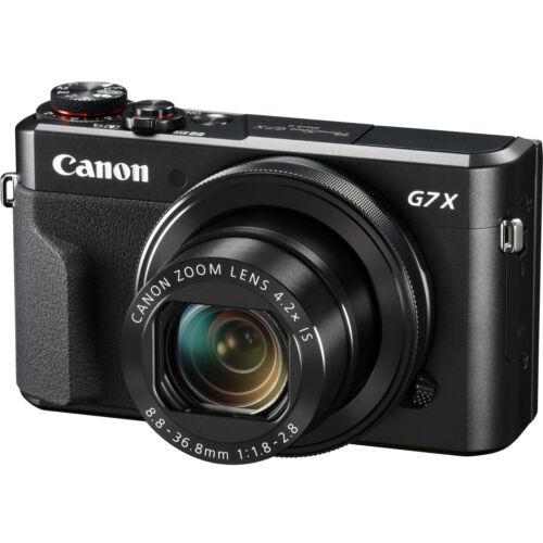 Canon PowerShot G7x Mark II 20.1MP Digital Camera 4.2x