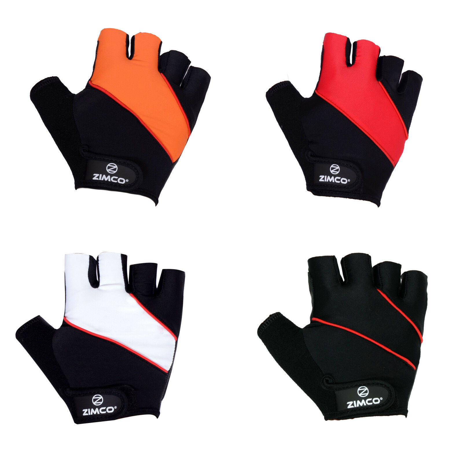 Zimco Elite Cycling Gloves Max Grip Comfortable Racing Gloves Blue