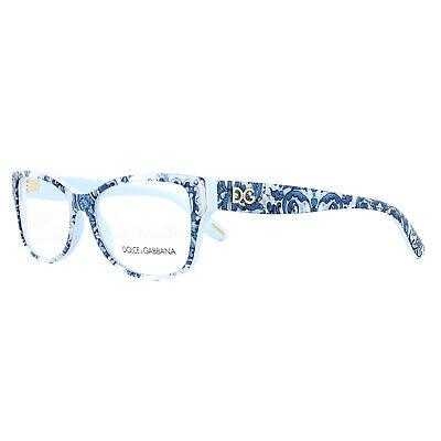 Dolce & Gabbana Brillengestell Dg 3204 2995 Maioliche Mattonelle On