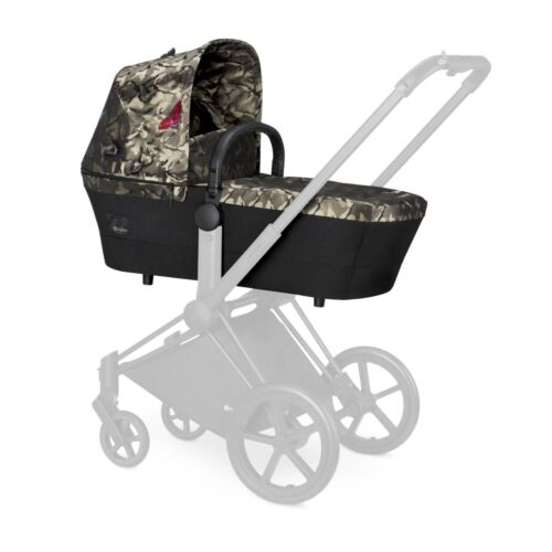 Cybex Priam Fashion Edition Butterfly Camouflage Carry Cot New in Box