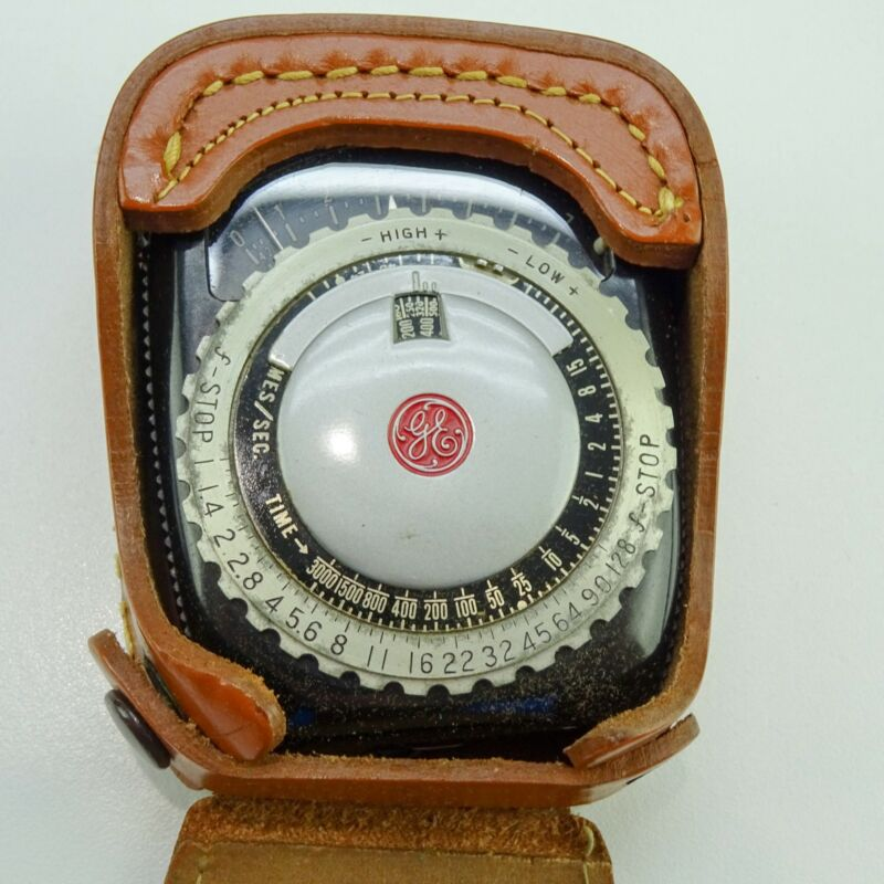 GE Exposure Meter Type PR-1 With Leather Case