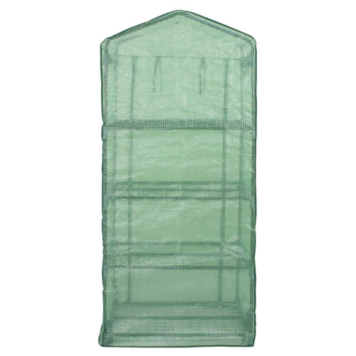 4 Tier Mini Greenhouse with Reinforced Cover Green House Portable Yard Indoor Garden Structures & Shade