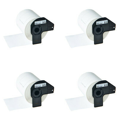 4 Rolls Dk1241 Large Shipping Labels For Brother Ql-1050 1060n Label Makers 4