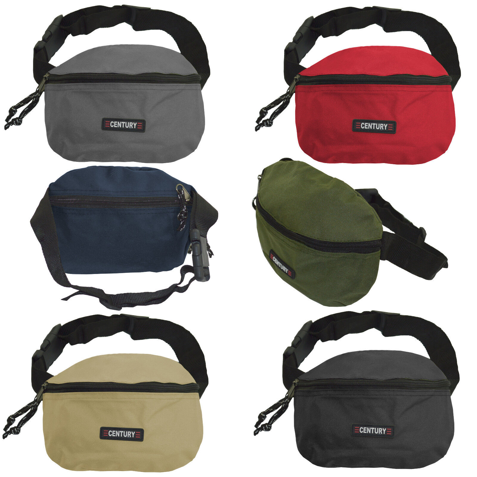 Kinderbauchtasche robust mit 2 Fächer Gürteltasche Hüfttasche ab Größe 50-152