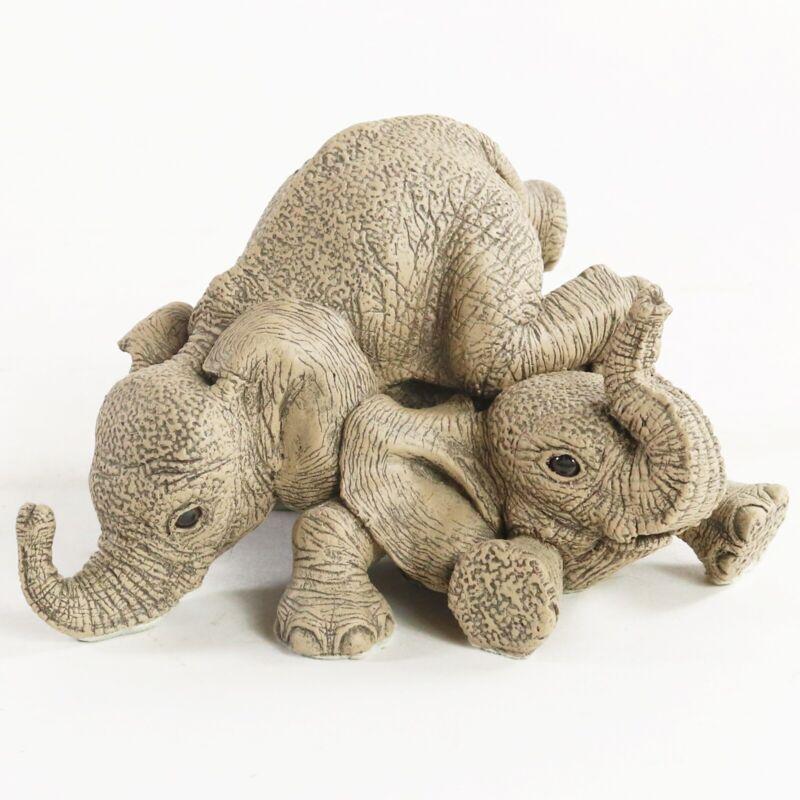 Martha Carey Herd Elephants Rock & Roll #3170 Elephant Marty Sculptures