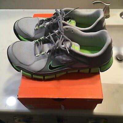 6e2fcd5dbd436 Nike Lime Green Flex 11.5 cross trainers