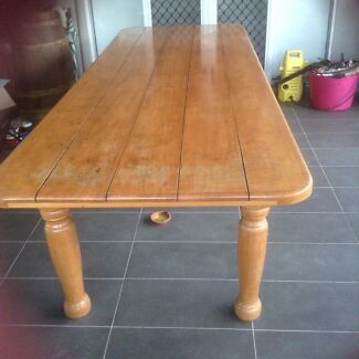 Solid timber table Smithfield Cairns City Preview