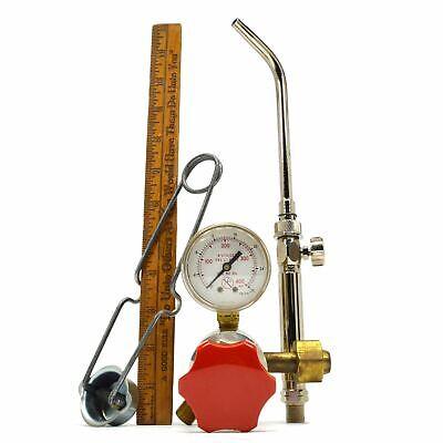 Smiths Acetylene Regulator No. H1983-520 Jewelry Torch Handle Ne180a Flint