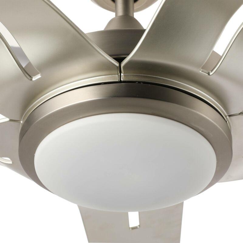 56'' Indoor Brushed LED Reversible Remote