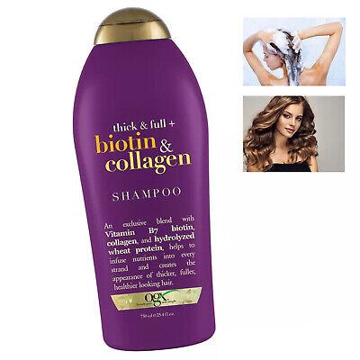 Shampoo Para Cabello Delgado Y Quebradizo Tratamiento Engrosar Pelo Crecimiento