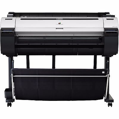"New Canon imagePROGRAF iPF770 36"" Large Format Color InkJet Printer Plotter"