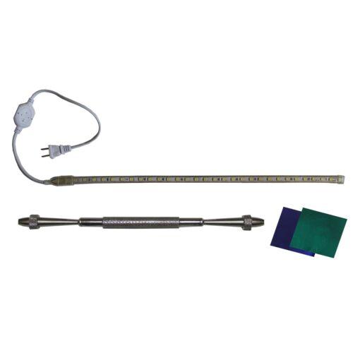 Saxophone, Heavy Duty, LED Leak Light,  w Feeler Gauge Handle