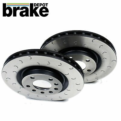 for Honda Civic Type R Brake Discs Front Brake Depot C Hooked Grooved EP3 FN2
