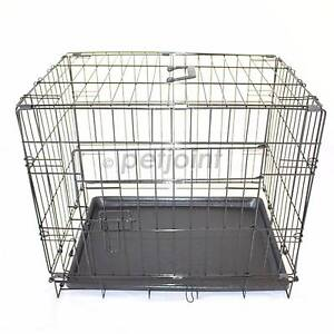 """24"""" S Metal Pet Dog Cat Puppy Rabbit Bird Rat Cage Kennel Crate 1 Campbellfield Hume Area Preview"""