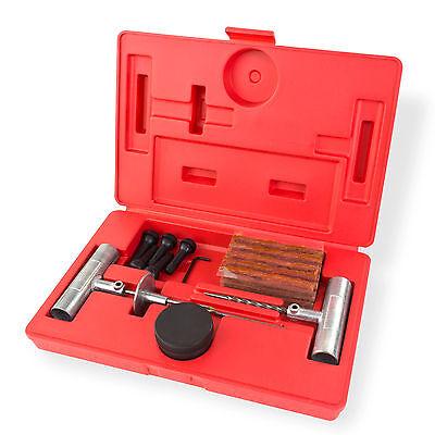 ReifenReparatur Set 40tlg Flicken Satz Pannenset Flickzeug + Koffer  918804