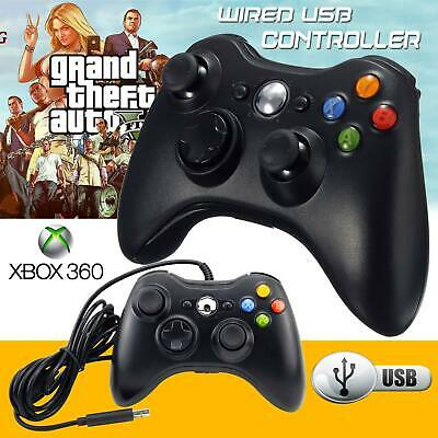USB Wired PC Game Controller For XBox 360 Gamepad Joypad with Shoulders Buttons