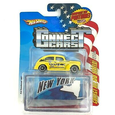 Hot Wheels Connect Cars NEW YORK Taxi Cab Fat Fendered 1940 40 Car Die Cast 1/64